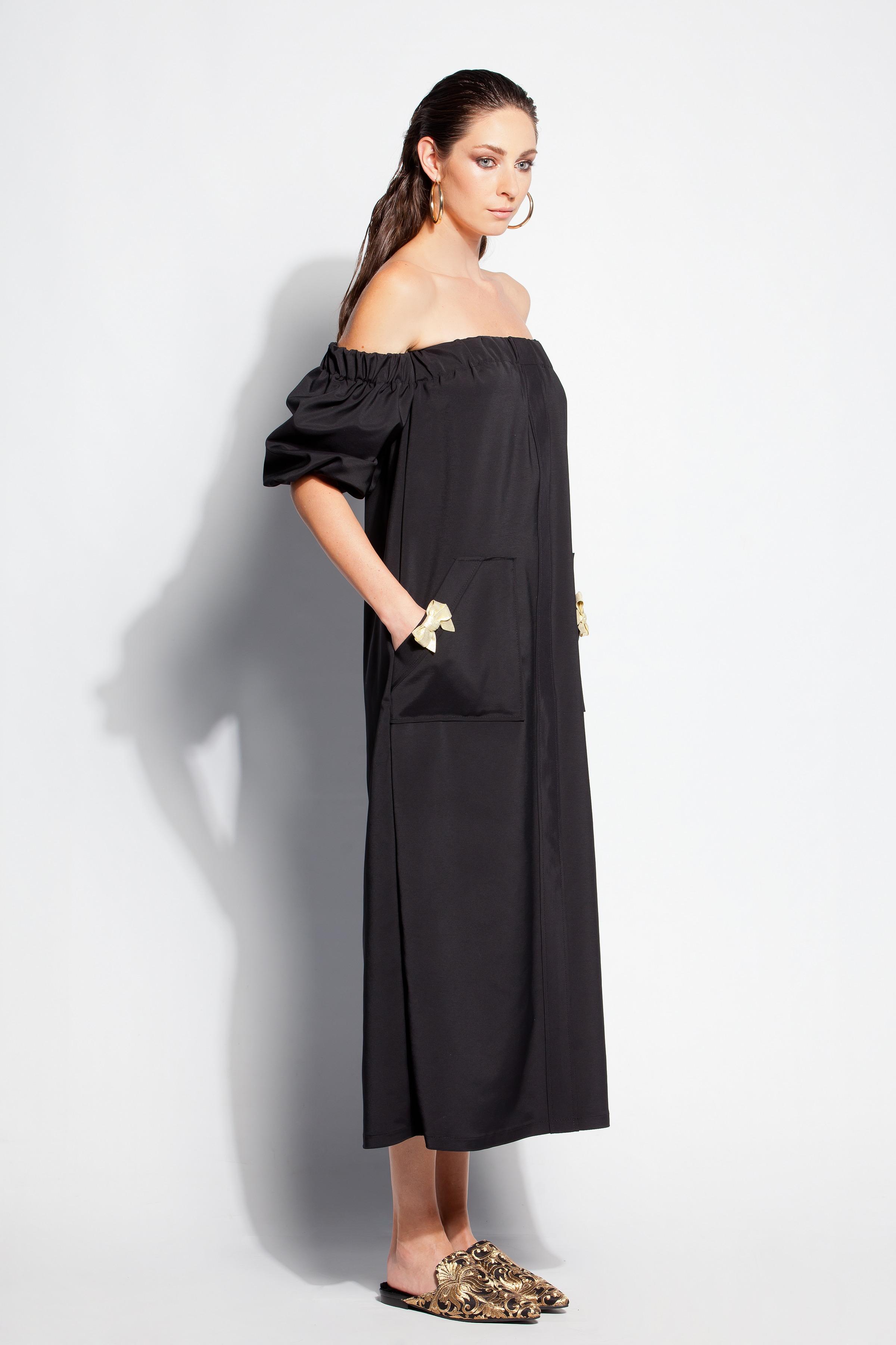 Cherry Blossoms Dresses   Black dress/ Summer dress/ Dress/ Dressing ...